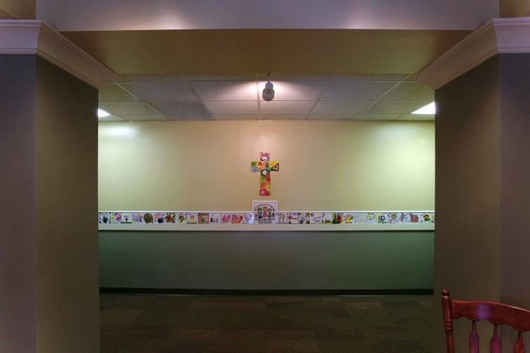 All Saints Catholic Church Classroom Hallway