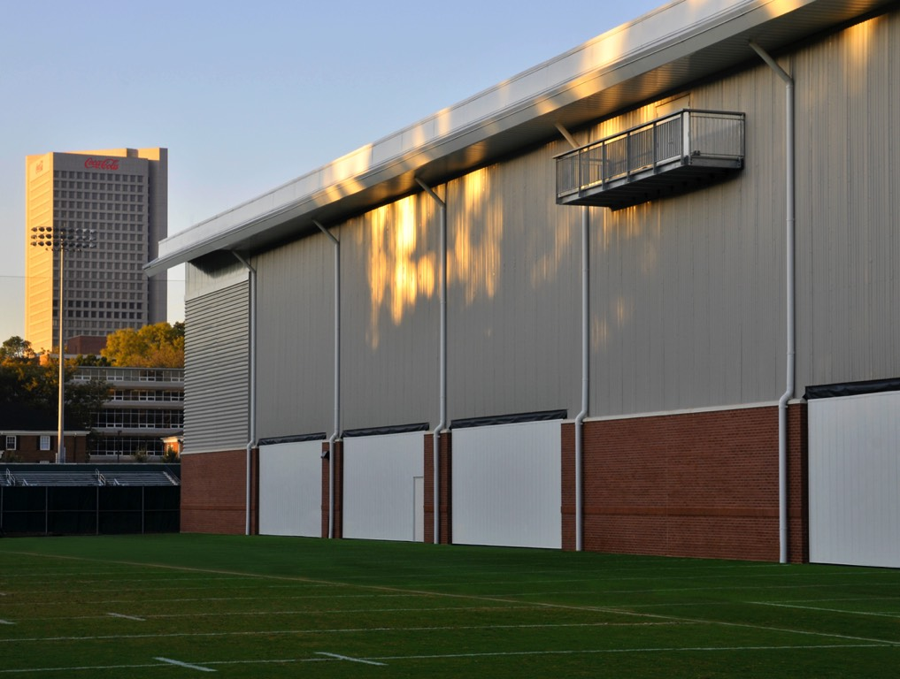Georgia Tech Practice Facility Eastern View
