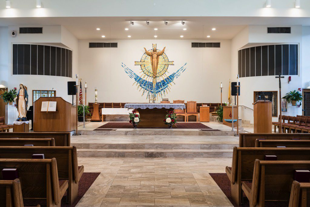 Corpus Christi Catholic Church Sanctuary