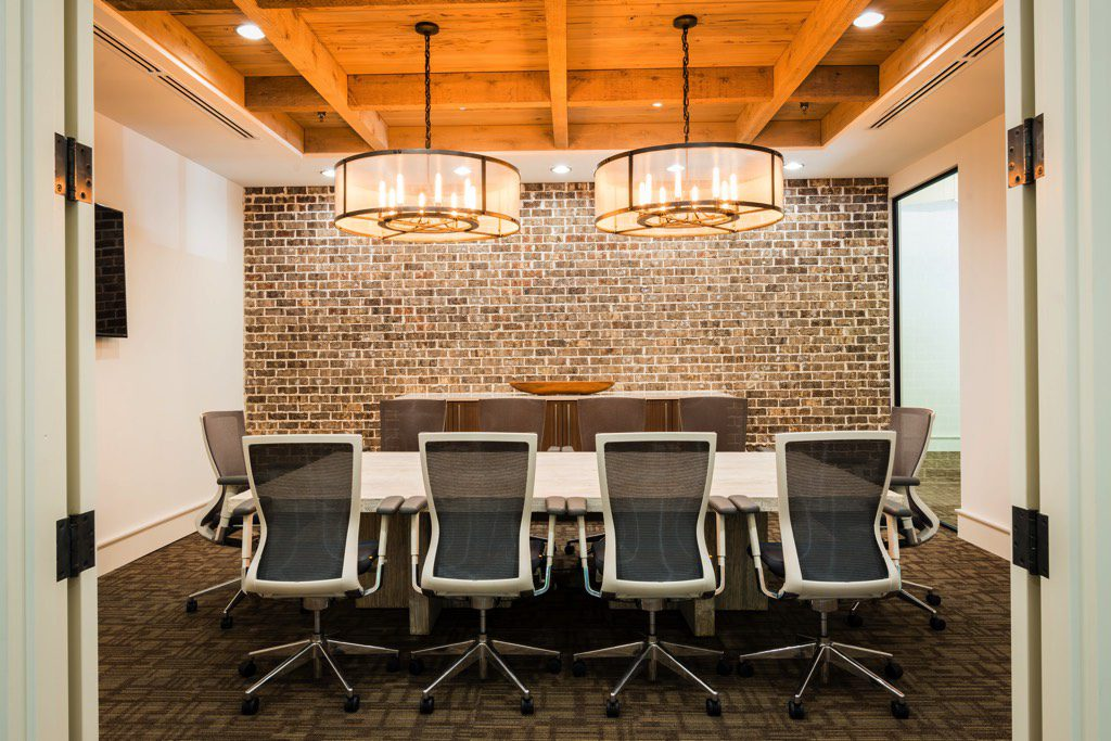 Moeller Purcell Construction Company Office Conference Room
