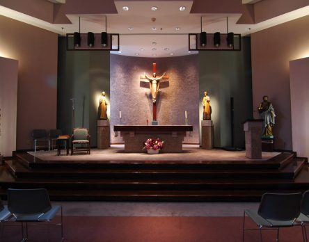 Catholic Center at Georgia Tech Altar