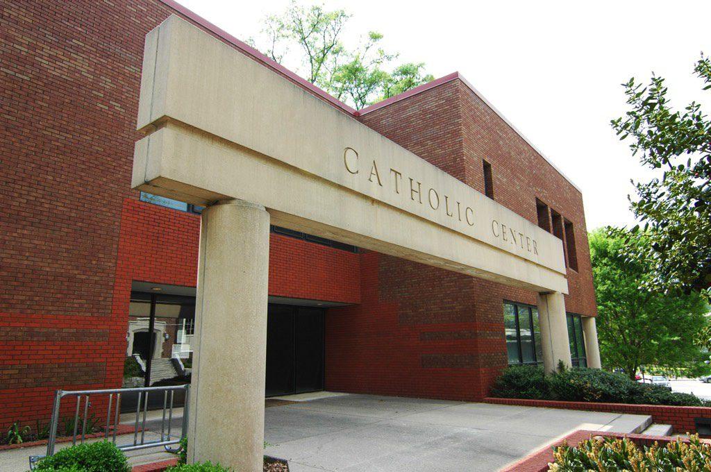 Catholic Center at Georgia Tech Exterior Entrance