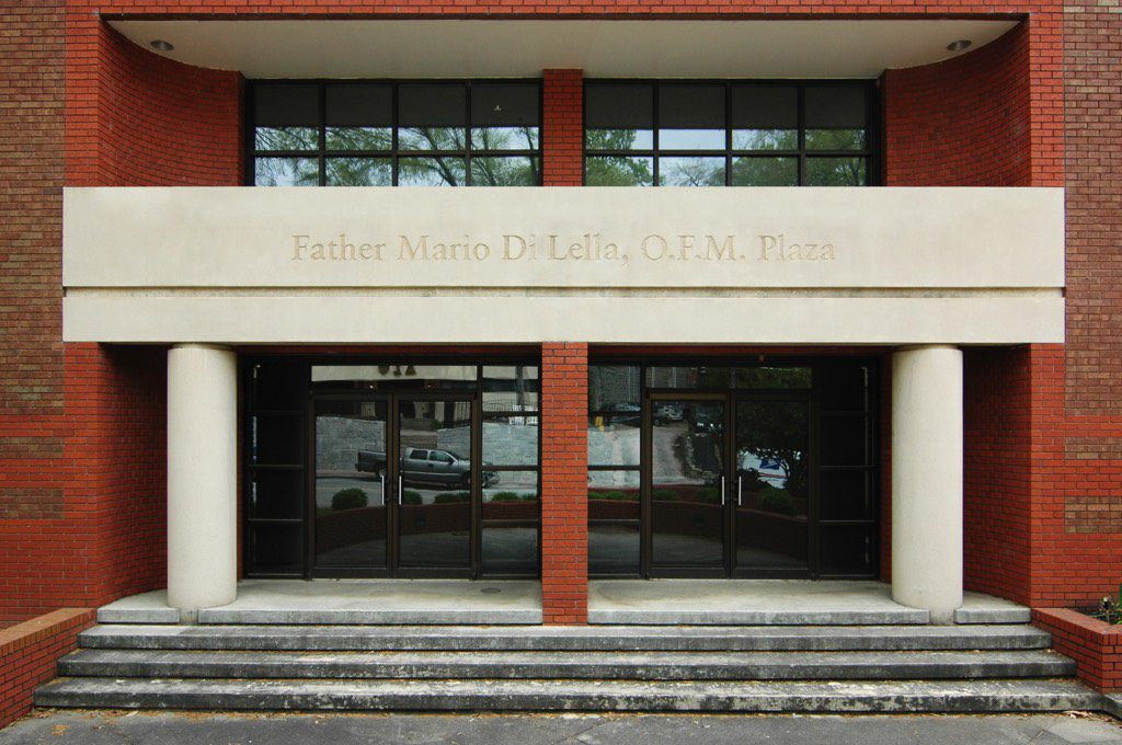 Catholic Center at Georgia Tech Father Mario Di Lella, O.F.M. Plaza