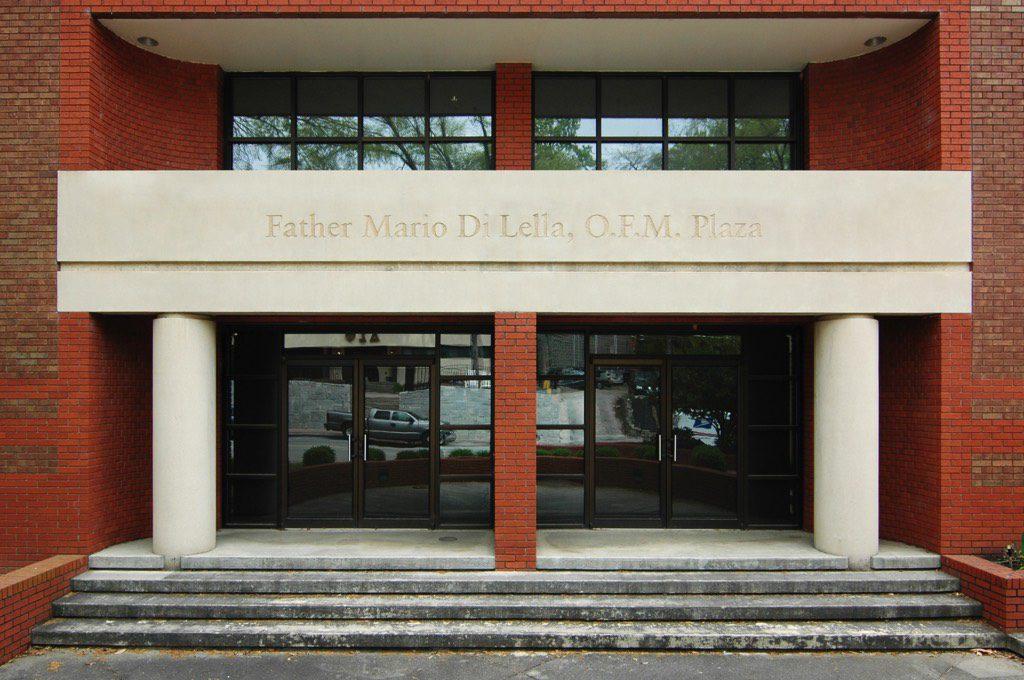 Catholic Center at Georgia Tech Father Mario Di Lella, O.F.M. Plaza