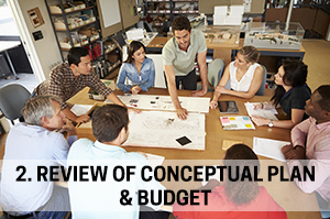 2. Review of Conceptual Plan & Budget