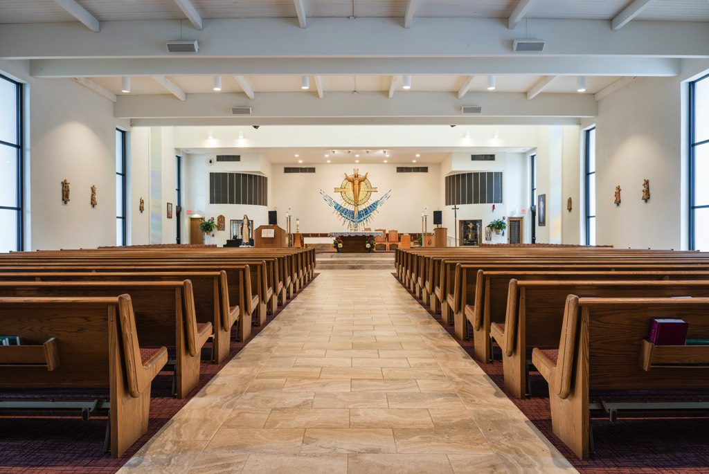 Corpus Christi Catholic Church Sanctuary