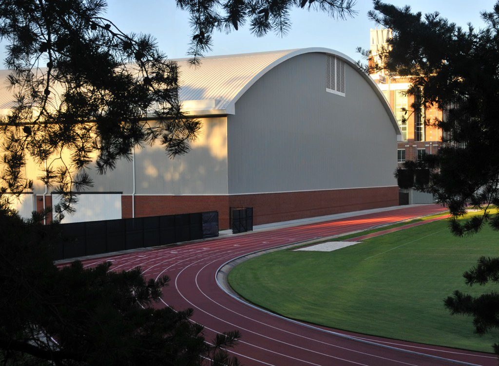 Georgia Tech Football Practice Facility North View from Track