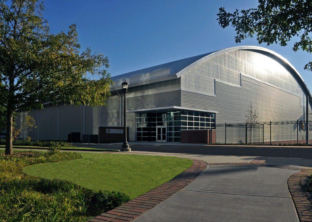 Georgia Tech Football Practice Facility Southwestern View