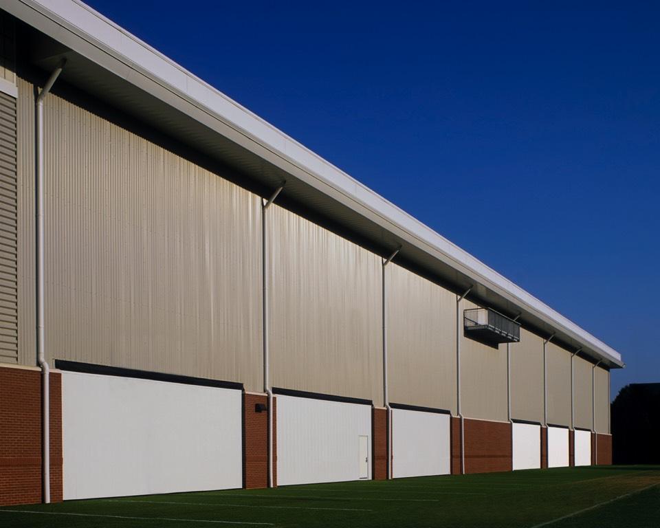 Georgia Tech Practice Facility Eastern View