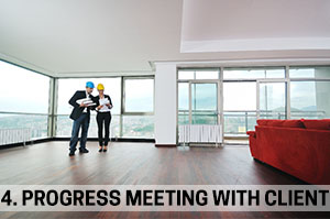 4. Progress Meeting with Client