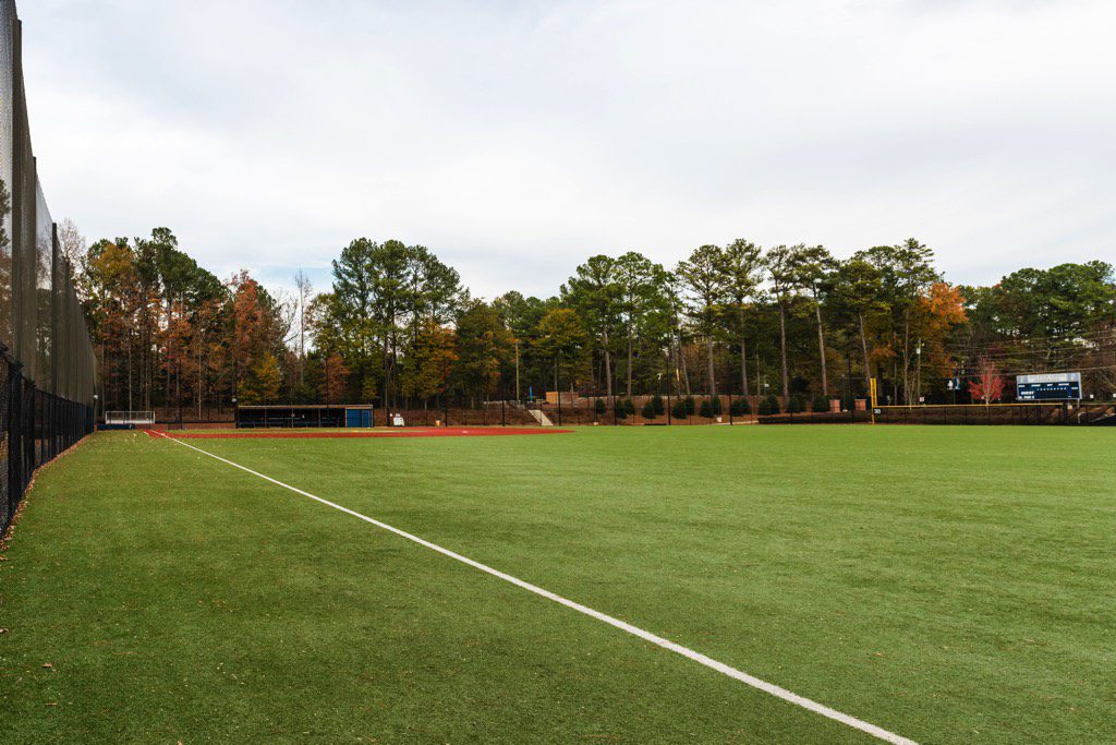St. Pius X Catholic High School Baseball Field Outfield