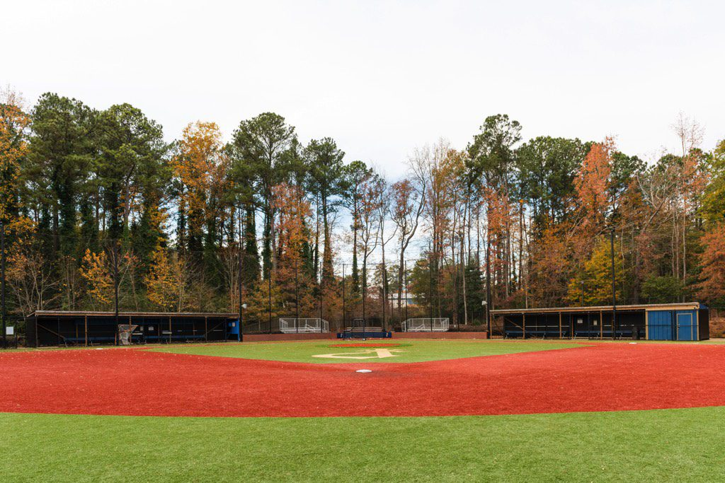 St. Pius X Catholic High School Synthetic Turf Baseball Field