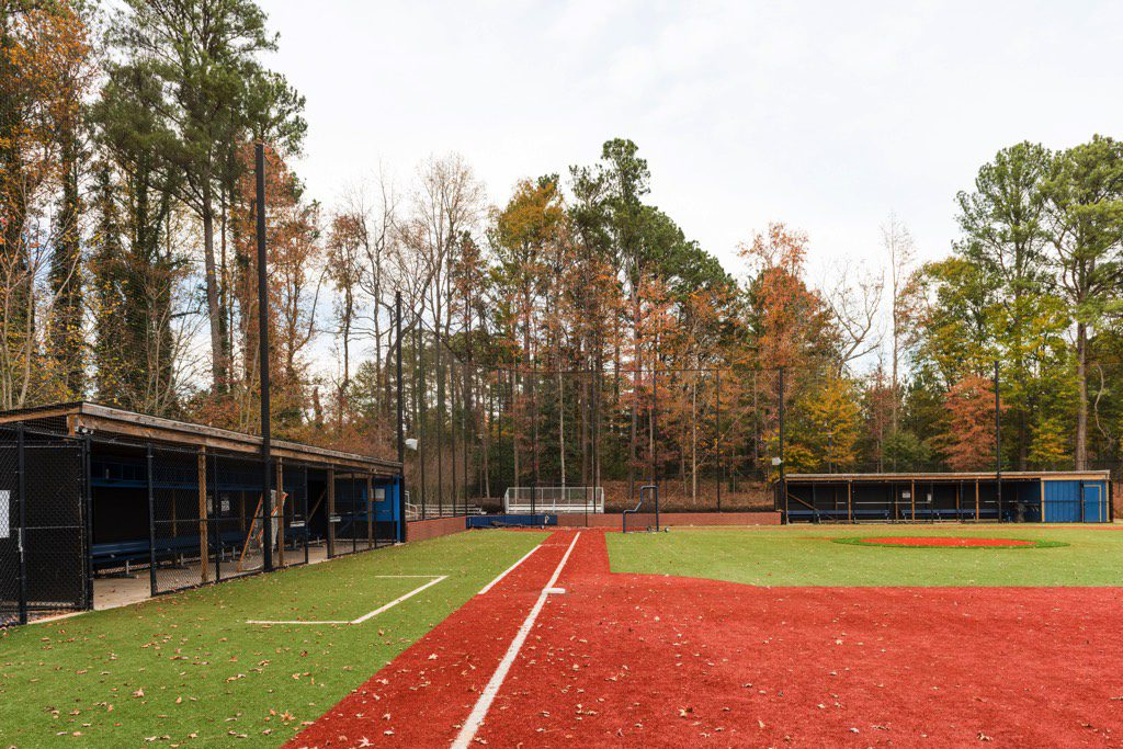St. Pius X Catholic High School Synthetic Turf Baseball Infield