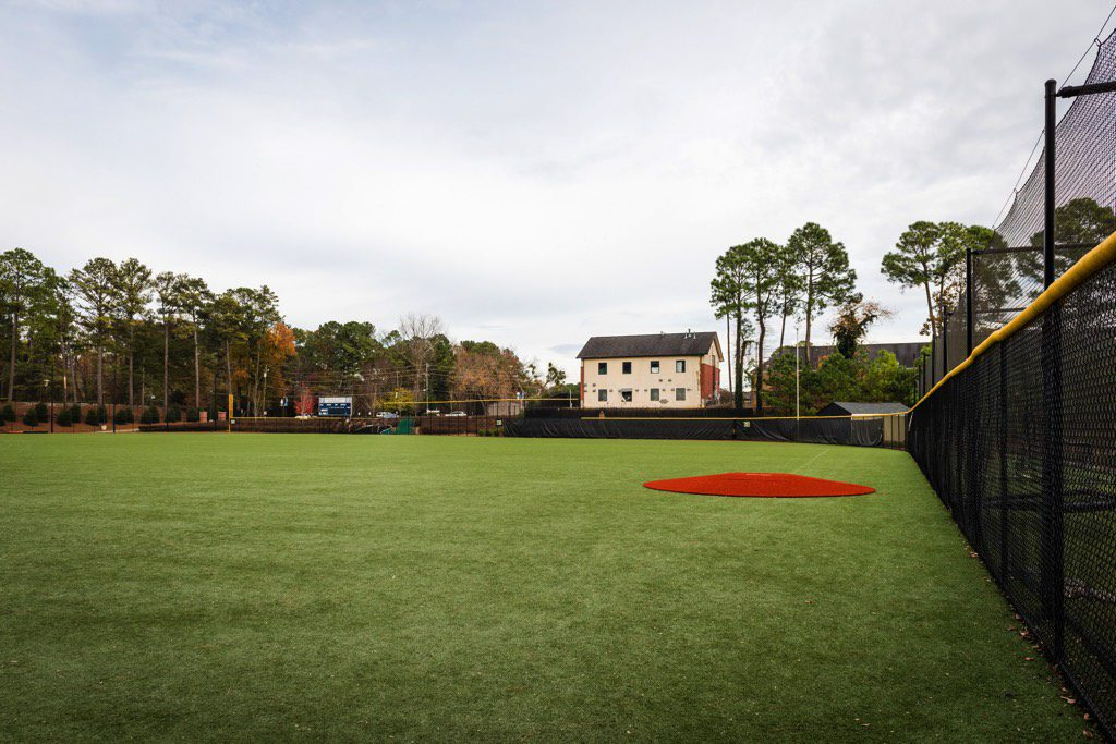 St. Pius X Synthetic Turf Baseball Field