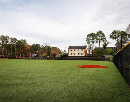 St. Pius X Synthetic Turf Baseball Field